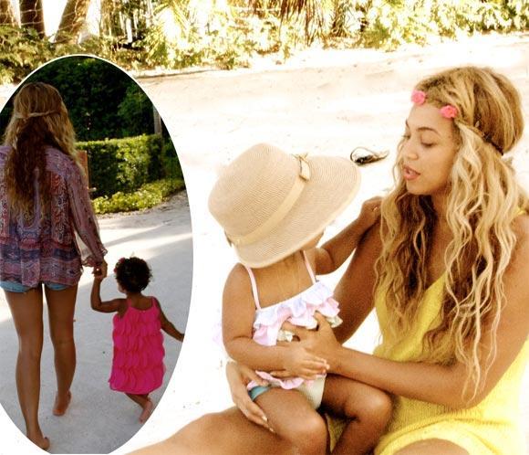 Beyoncé regala a sus fans las imágenes más dulces de sus vacaciones familiares