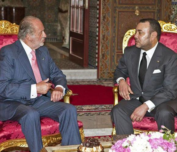 La capital de Marruecos, preparada para recibir esta tarde al rey Juan Carlos