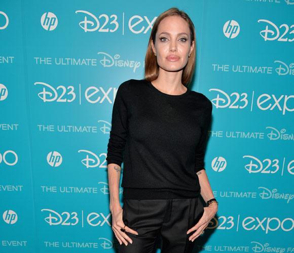 Angelina Jolie viaja a California para presentarun adelanto de'Maléfica'