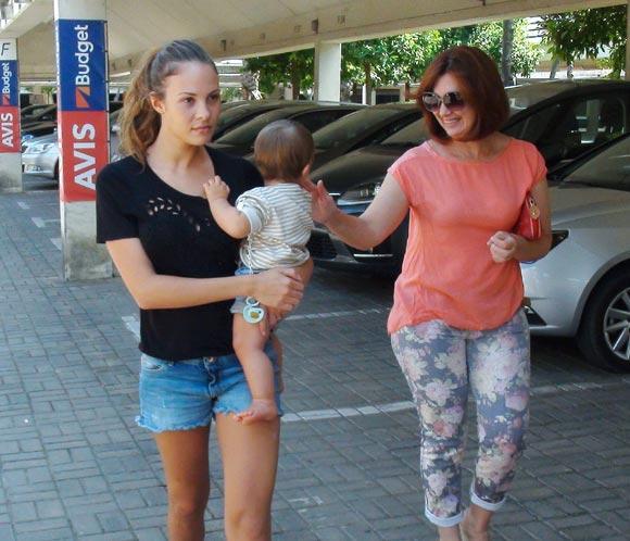 Jessica Bueno vuelve acasa tras su polémico viaje a Eibar