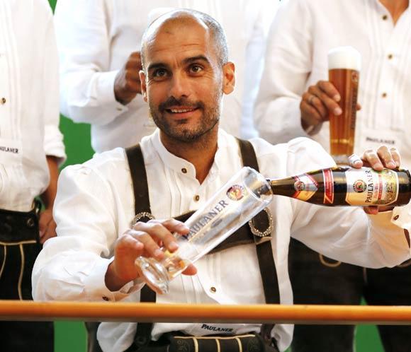 Pep Guardiola, un bávaro más en su nueva vida en Alemania