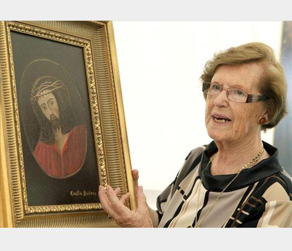 Cecilia Giménez, de polémica restauradora a dueña del eccehomo de Borja