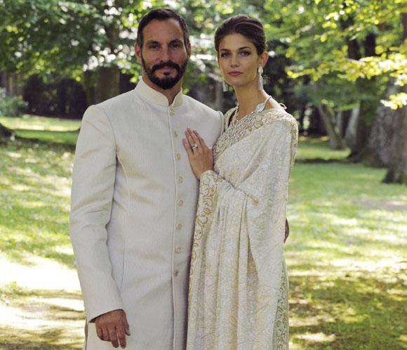 El príncipe Rahimcontrae matrimoniocon la 'top model' Kendra Spears