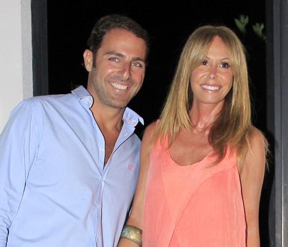 Lara Dibildos, feliz junto a su nuevo amor, Joaquín Capel