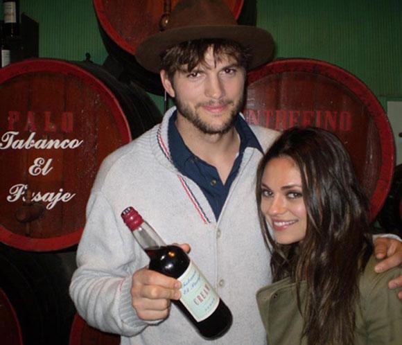 Ashton Kutcher y Mila Kunis no están comprometidos