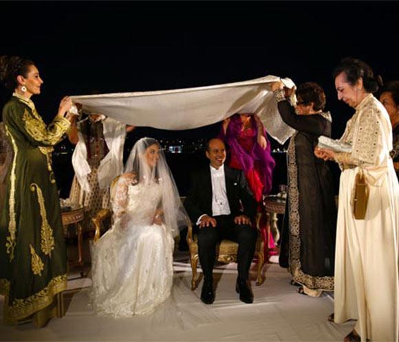 Mohammed Ali de Egiptose casa con la princesa Noal de Afganistán en un auténtico y tradicional enlace Real