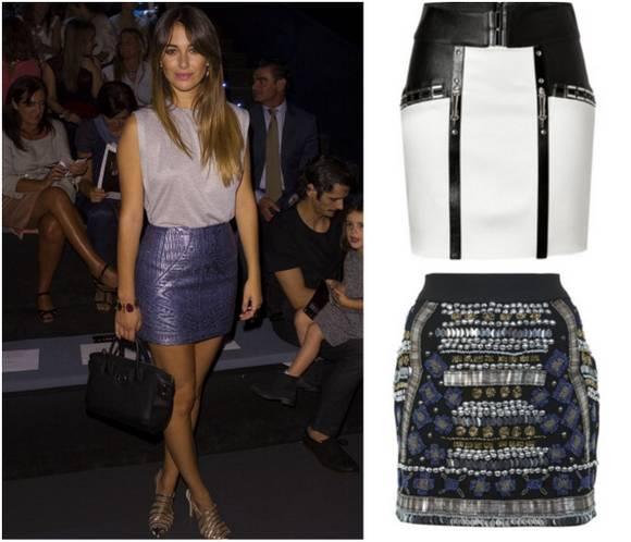 Street style: Blanca Suárez, ganadoraal mejor look de la MBFWM