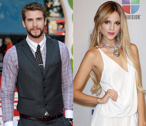 Liam Hemsworth, 'pillado' besándose apasionadamente con la sexy mexicana Eiza González