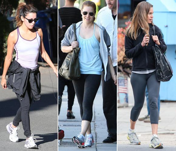 Eva Longoria, Amy Adams, Hilary Swank... ¡todas en forma!