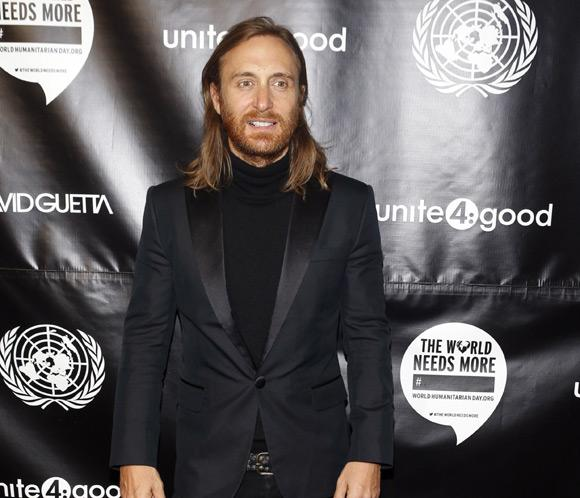 David Guetta, solidario con Siria y Filipinas