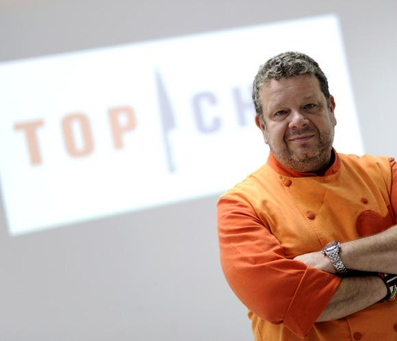 Alberto Chicote inicia la recta final de 'Top Chef' y renueva para 2014