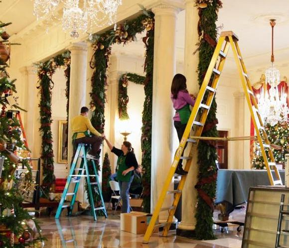 La navidad llega a la casa blanca noticias - Adornar la casa en navidad ...