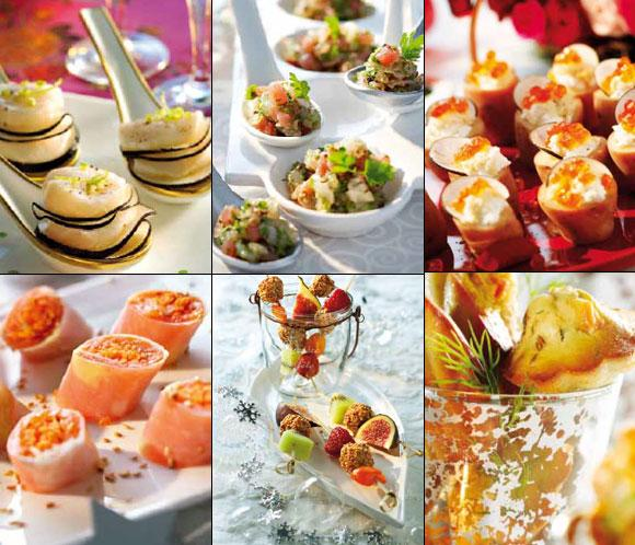 Recetas para fin de a o canap s 39 gourmet 39 simplemente for Menu de fin de ano en casa