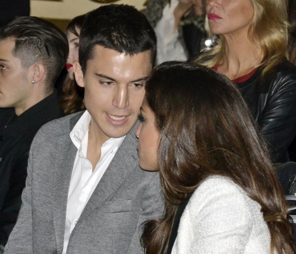 Alex González e Hiba Abouk, la nueva pareja de moda en la pequeña pantalla