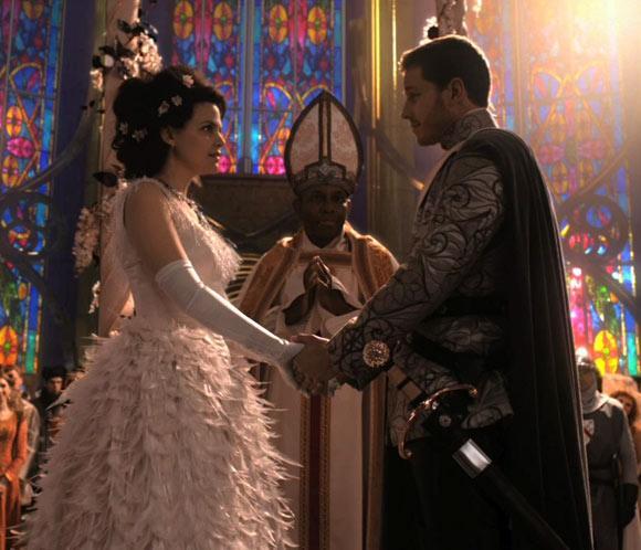 Matrimonio Tema Once Upon A Time : Los 'príncipes del 'bosque encantado ginnifer goodwin y