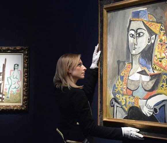 Las obras de arte de Picasso, Dalí y Miró brillan en la subasta de ...