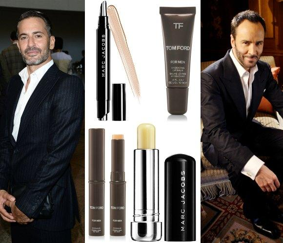El cara a cara 'beauty' de Marc Jacobs y Tom Ford