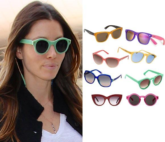 Gafas de sol: Miradas 'cool' a todo color