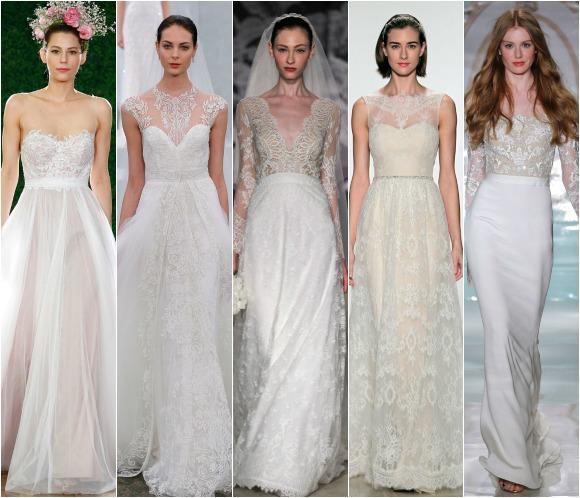 Lo último en moda nupcial nos llega desde la New York Bridal Week ...