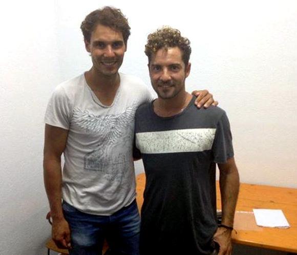 ¿Cuánto mide Rafa Nadal? - Real height Bisbal2