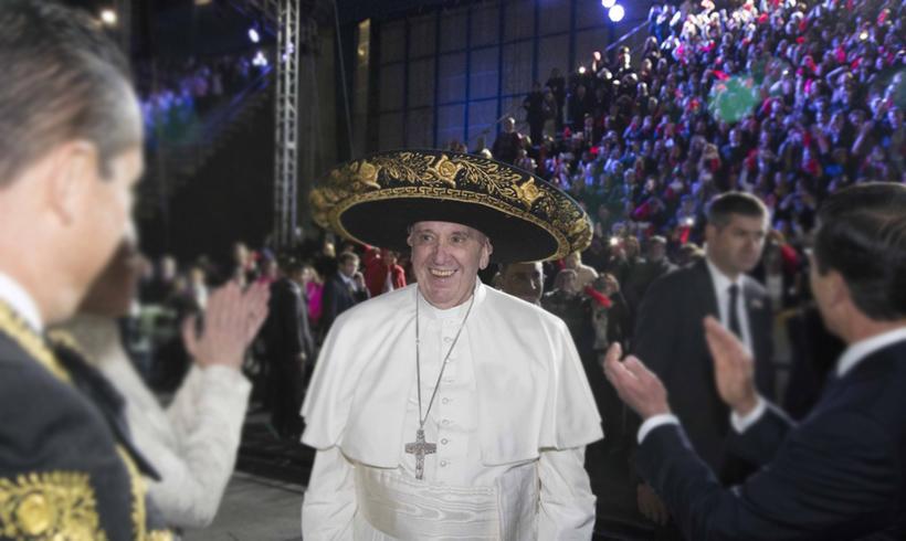 El Papa Francisco inicia su primera visita oficial a México ... cdfc447d054