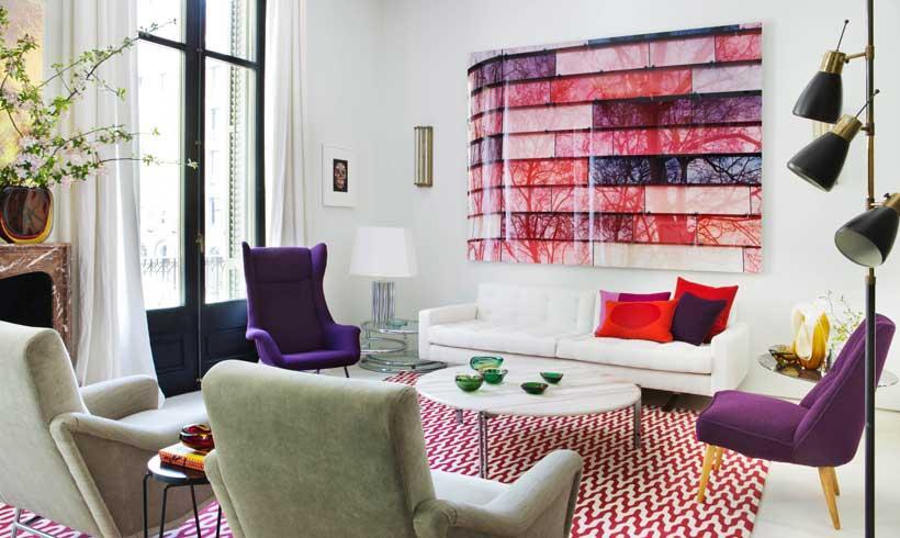 Decoraci n de interiores un piso elegante c lido y con for Decoracion interiores 2016