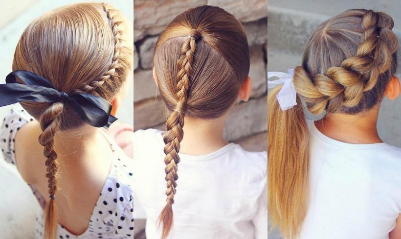 12 peinados con trenzas para las princesas del verano