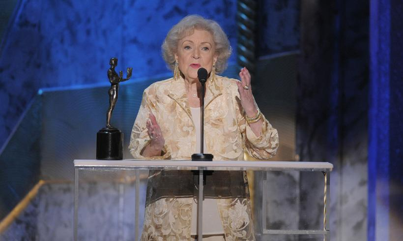 Betty White cumple 95 años 'dorados'