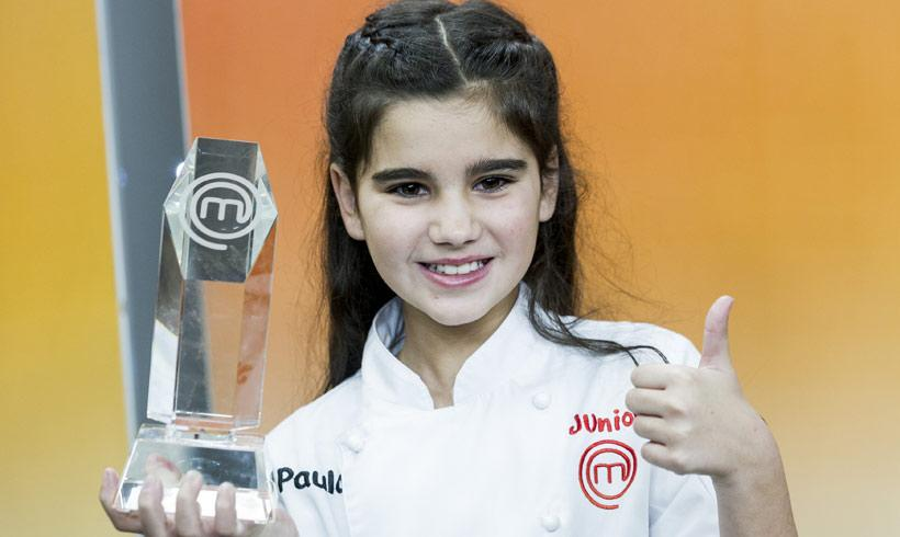 Paula, ¡ganadora de 'MasterChef Junior'!