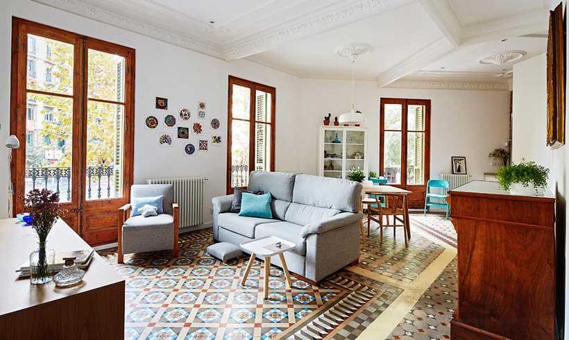 Decoración de interiores: un piso con alma modernista y espíritu ...