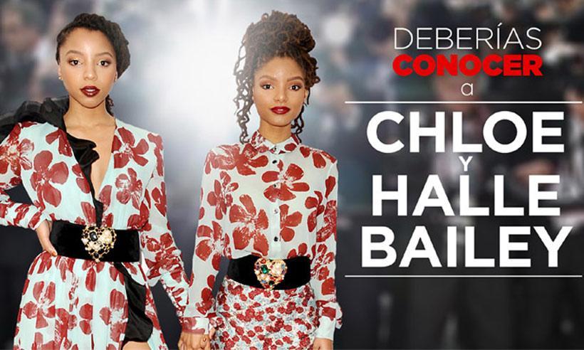 Descubre a las protegidas de Beyoncé: las hermanas Chloe y Halle Bailey
