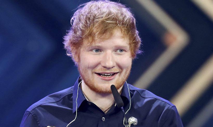 Ed Sheeran, el artista que bate todos los récords, con éxitos inspirados en sus novias