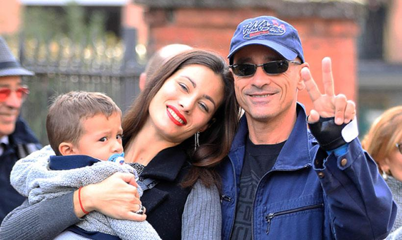 El hijo pequeño de Eros Ramazzotti cumple dos años