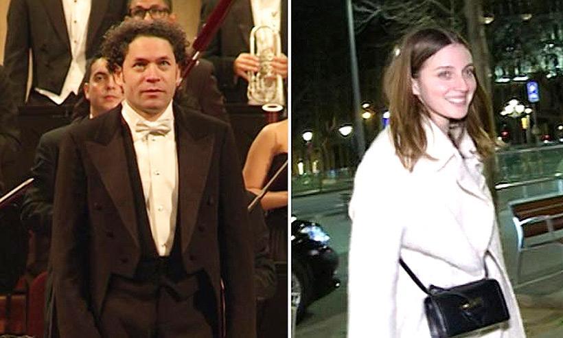 Tras su boda sorpresa, María Valverde y Gustavo Dudamel por primera vez en España