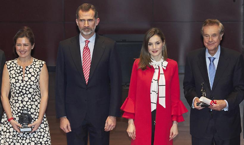 Los Reyes celebraron sus 1.000 días de trono en el Museo Reina Sofía