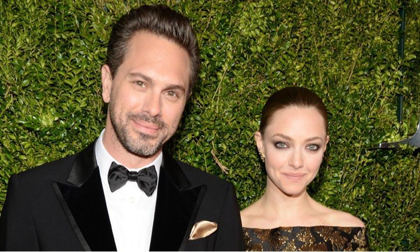 A pocos meses de ser padres, Amanda Seyfried y Thoman Sadoski se casan en secreto