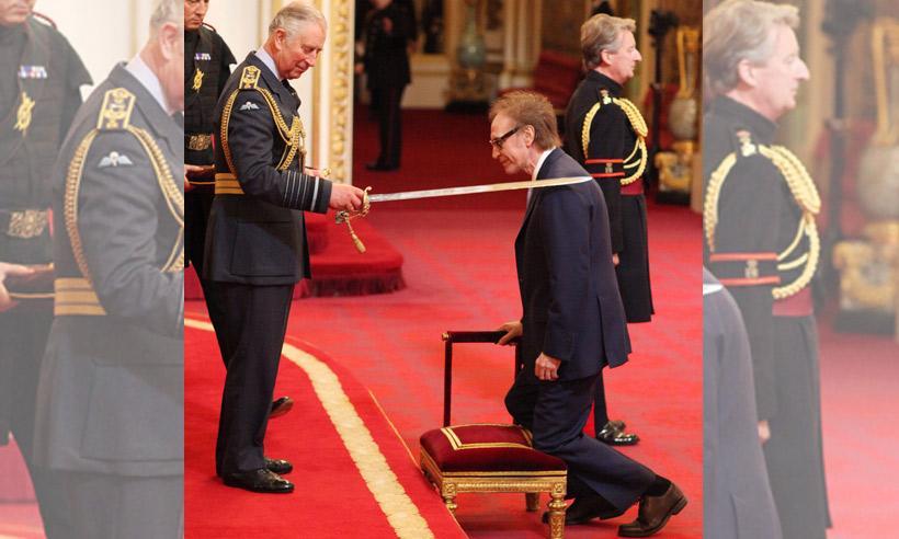 Ray Davies, líder de 'The Kinks', investido Caballero del Imperio Británico