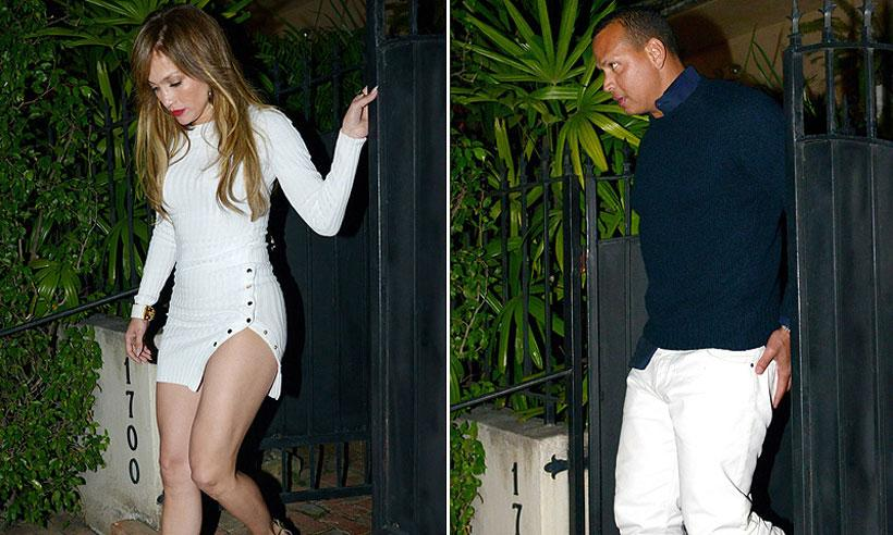 Jennifer López luce curvas durante su escapada a las Bahamas con Alex Rodríguez