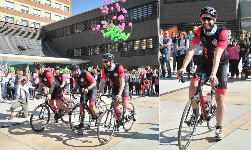 La pedalada más solidaria de Dani Rovira: recorre 1.500 kilómetros en bici por una buena causa