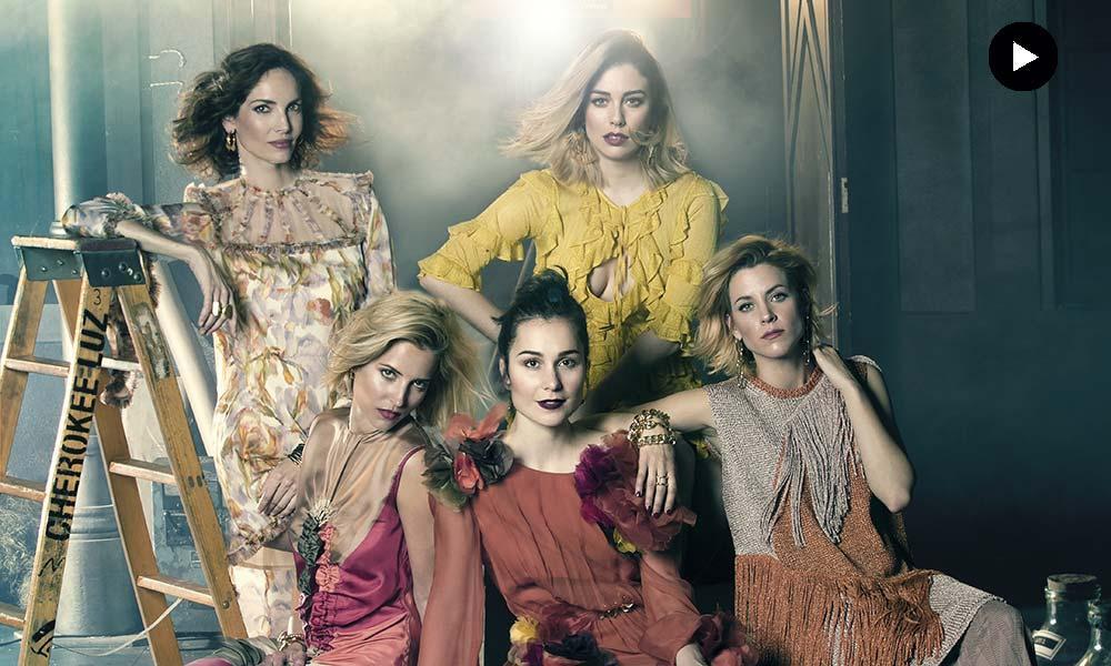 making of': 'las chicas del cable' llegan a h!fashion   noticias