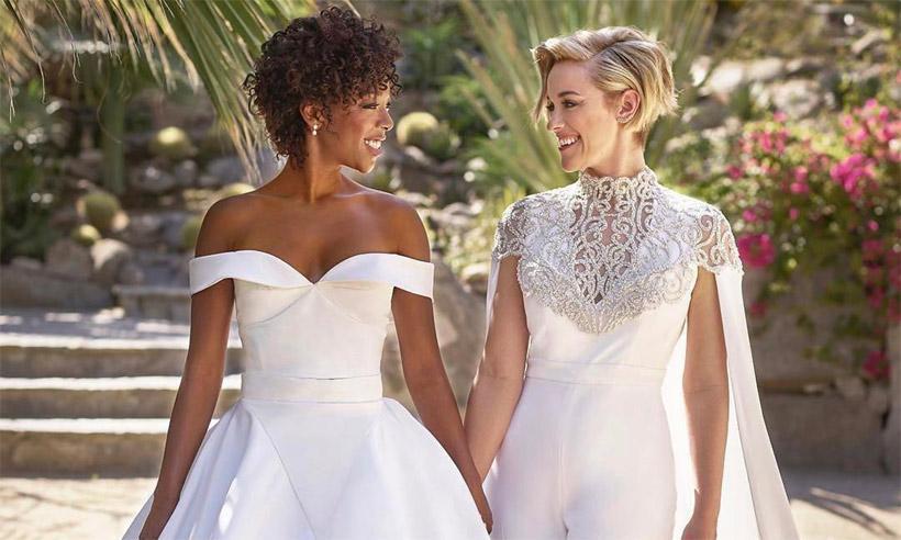 ¡Boda en 'Orange is the new black'! Samira Wiley (Poussey) y la guionista Lauren Morelli se han casado