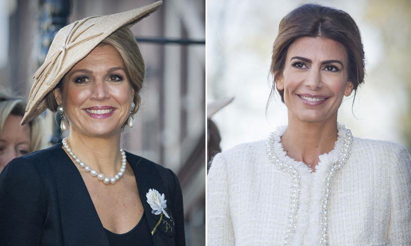 Los estilos de Máxima de Holanda y Juliana Awada