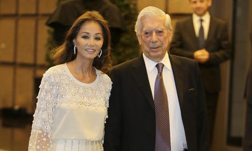 Isabel Preysler y Mario Vargas Llosa por primera vez juntos en Perú