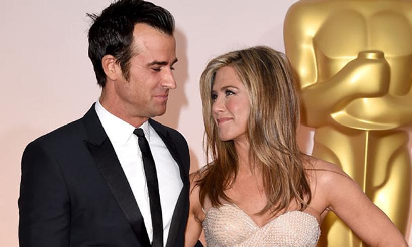 Justin Theroux desvela que no se siente intimidado por el éxito de su mujer, Jennifer Aniston