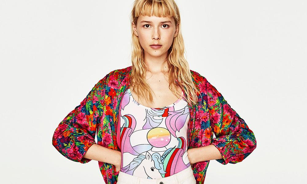 El 'body' unicornio de Zara ya está en el armario de Sara Carbonero