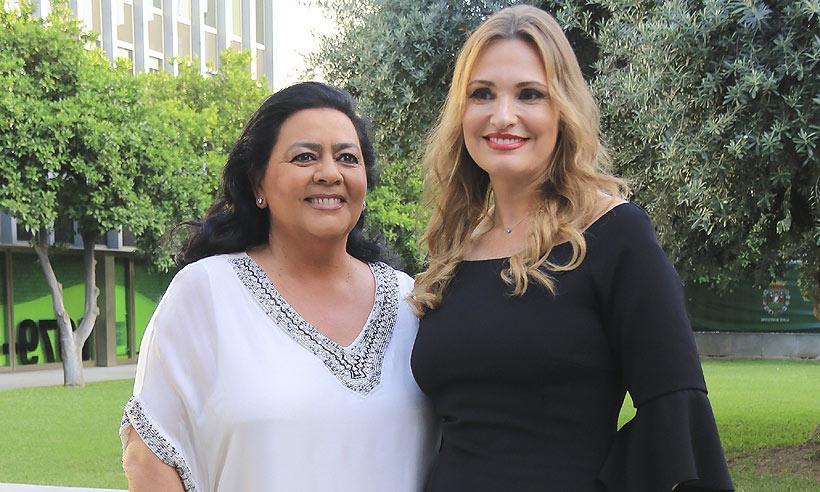 Ainhoa Arteta y María del Monte, homenajeadas en Sevilla