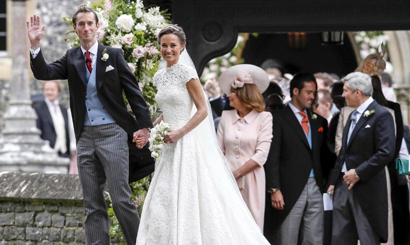 ¡Revelado el menú de la boda de Pippa Middleton y James Matthews!