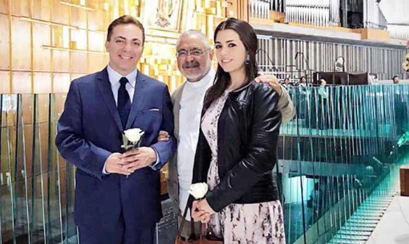 Cristian Castro nos sorprende con una boda sorpresa..¡Y ya van tres!