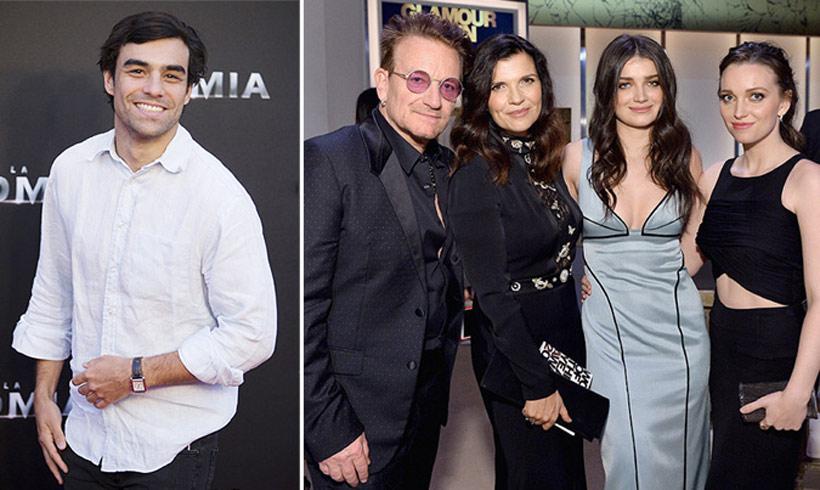 ¿Ha conocido Diego Osorio a su 'suegro', Bono de U2?