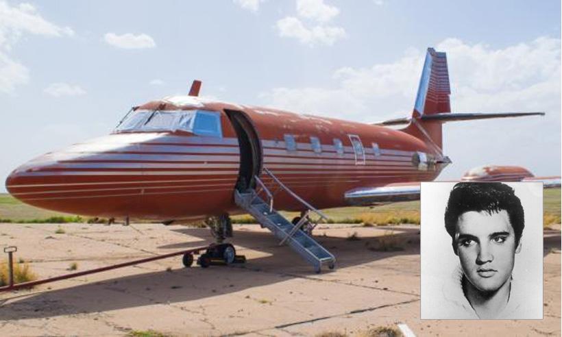 El jet privado de Elvis Presley, subastado por 384.644 euros